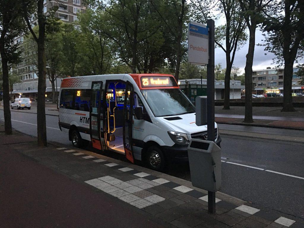 HTMbuzz minibus openbaarvervoer